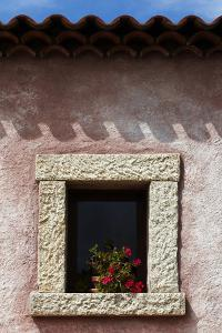 A Window of the Tenuta Pilastru Near Arzachena, Sardinia by Dave Yoder