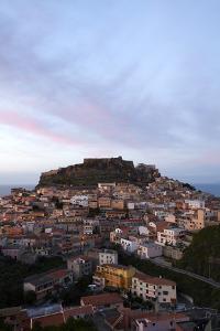 Castelsardo, Sardinia, At Dusk by Dave Yoder