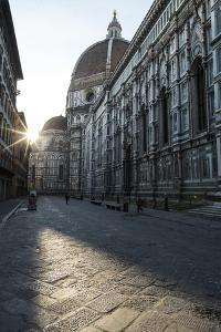 The Basilica Di Santa Maria Del Fiore, Which Is Crowned by the Famous Brunelleschi Cupola by Dave Yoder