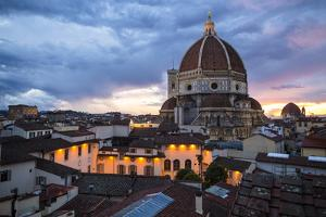 The Dome of the Cathedral of Santa Maria Del Fiore in Florence by Dave Yoder