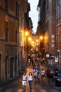 Via Dei Pettinari, in the Centro Storico Part of Rome, Filled with Locals and Tourists by Dave Yoder