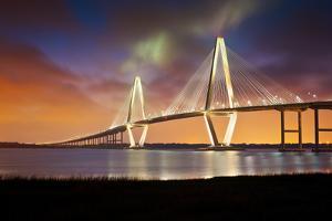Arthur Ravenel Jr Cooper River Suspension Bridge Charleston Sc by daveallenphoto
