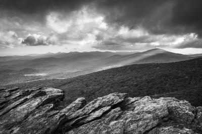 Blue Ridge Parkway Grandfather Mountain Rough Ridge Scenic Landscape Overlook