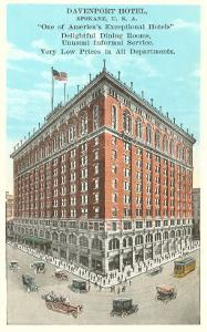 Davenport Hotel, Spokane, Washington