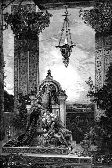 David, 1878-Gustave Moreau-Giclee Print
