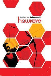 Hawkeye #13 Cover: Hawkeye by David Aja