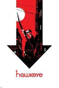 Hawkeye #6 Cover: Hawkeye by David Aja