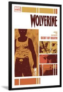 Wolverine: Debt of Death No.1 Cover: Wolverine Standing by David Aja