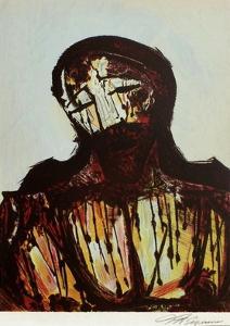 Portrait du Christ by David Alfaro Siqueiros