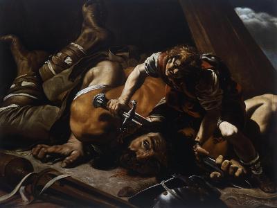 David and Goliath-Orazio Grevenbroeck-Giclee Print