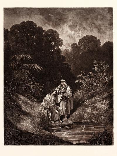 David and Jonathan-Gustave Dore-Giclee Print
