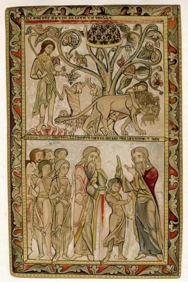 David and Samuel, 1121-1161--Giclee Print