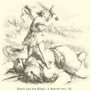 David and the Giant, 1 Samuel, Xvii, 51