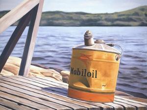 A Day at the Lake, 1996 by David Arsenault