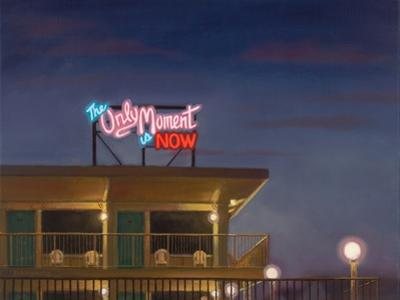 The Only Moment Is Now, 2011 by David Arsenault