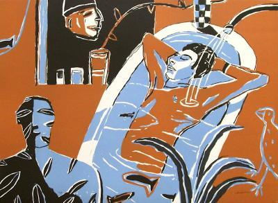 David Au Bain-Laurent Corvaisier-Collectable Print