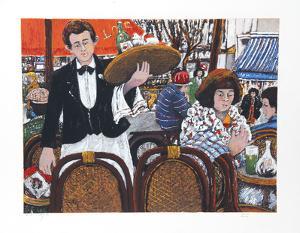 Cafe La Rontonde Montparnasse by David Azuz