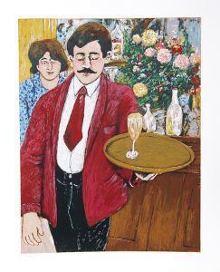 Italian Waiter by David Azuz