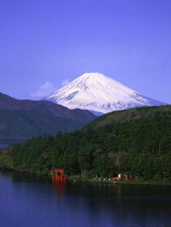 Ashinoko, Hakone and Mt. Fuji, Japan