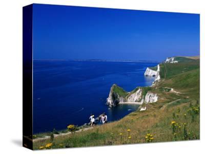 Durdle Door Coastline, Weymouth Bay, Dorset, UK