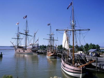 Ship Replicas, Jamestown Settlement, VA by David Ball