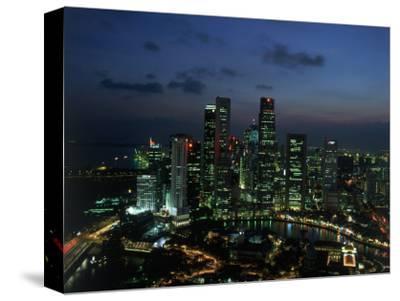 Skyline from Westin Stamford Hotel, Singapore