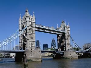 Tower Bridge in London by David Ball