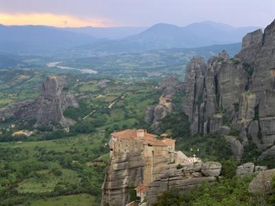 UNESCO World Heritage Site in Meteora, Greece