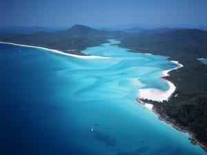 Whitehaven Beach, Queensland, Australia by David Ball