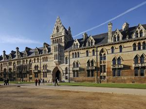Christchurch Is One of Largest Constituent Colleges of the University of Oxford in England, College by David Bank