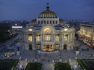 Mexico City, Palacio De Bellas Artes Is the Premier Opera House of Mexico City, Mexico by David Bank