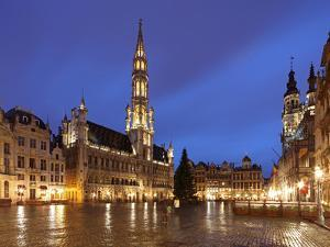 The Town Hall (French: Hôtel De Ville), of City of Brussels Is a Gothic Building from Middle Ages L by David Bank