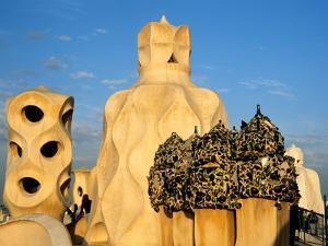 Antonio Gaudi's La Pedrera, Casa Mila, Barcelona, Spain by David Barnes