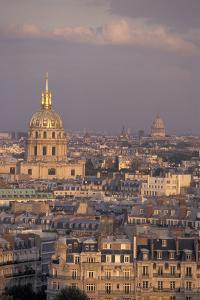 Europe, France, Paris, Les Invalides and Pantheon by David Barnes
