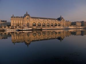 France, Paris, Seine, Musee d'Orsay by David Barnes