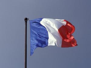 French Flag, France by David Barnes