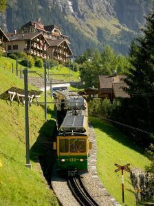 Jungfraujochbahn, Wengen, Lauterbrunnental, Switzerland by David Barnes