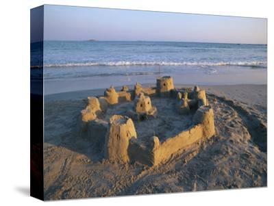 Sandcastle at Beach
