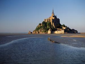 View of Mont Saint-Michel, Normandy, France by David Barnes