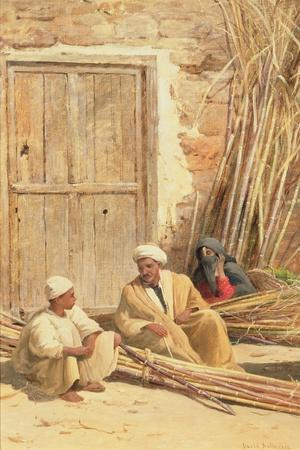 Sellers of Sugar Cane, Egypt, 1892