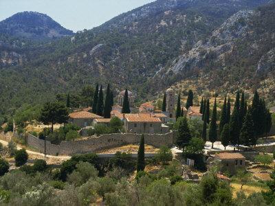 Nea Moi Monastery, Chios, North Aegean Islands, Greek Islands, Greece, Europe