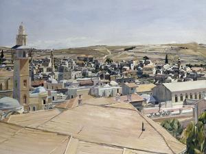 Jerusalem, Looking to Mount Scopus by David Bomberg