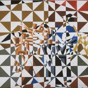 Ju-Jitsu by David Bomberg