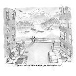 """Now we wait."" - New Yorker Cartoon-David Borchart-Premium Giclee Print"