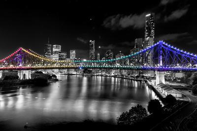 Brisbane Story Bridge by Night