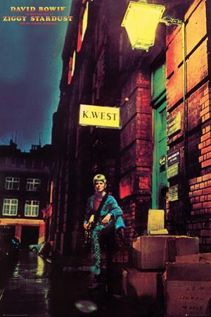 David Bowie- Ziggy Stardust Album Cover