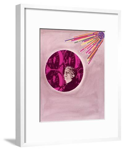 David Bowie--Framed Art Print