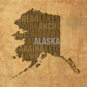 Alaska State Words by David Bowman
