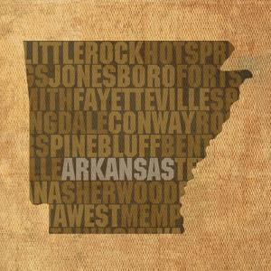 Arkansas State Words by David Bowman