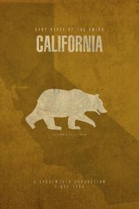 California Poster by David Bowman
